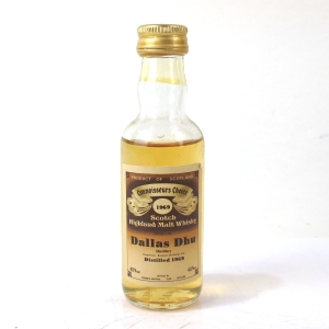 Dallas Dhu 1969 Gordon and MacPhail Miniature