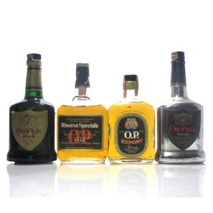 Oro Pilla Brandy 1970s x 4