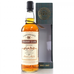Mortlach 2003 Cadenhead's 13 Year Old / Sherry Cask