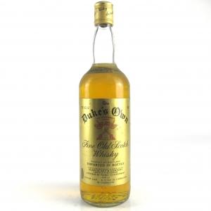 Duke's Own Scotch Whisky 1980s
