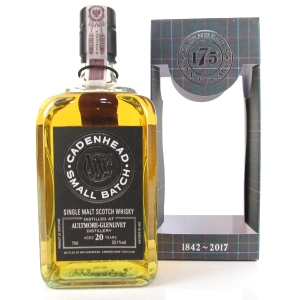 Aultmore 1997 Cadenhead's 20 Year Old