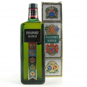 Passport Scotch Blended Scotch Whisky 1980s