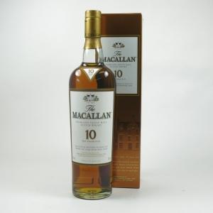 Macallan 10 Year Old Sherry Oak