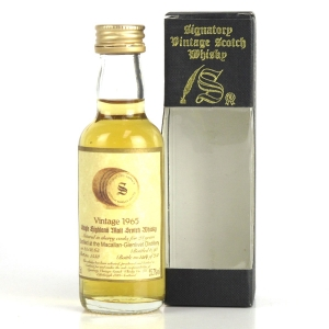 Macallan 1965 Signatory Vintage 28 Year Old Miniature 5cl