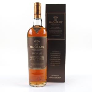 Macallan No.1 Edition / Taiwan Import