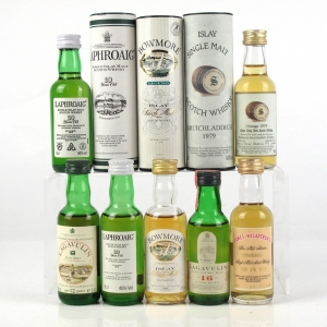 Miscellaneous Islay Single Malt Selection 7 x 5cl