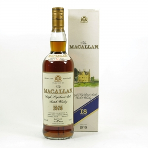 Macallan 1978 18 Year Old Front