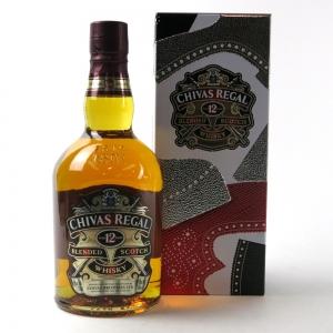 Chivas Regal 12 Year Old / Tim Little Presentation Tin