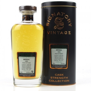 Imperial 1995 Signatory Vintage 20 Year Old / Cask Strength
