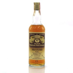 Aberfeldy 1970 Gordon and MacPhail 17 Year Old / Meregalli Import
