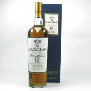 Macallan Elegancia 12 Year Old 1 Litre 1990s