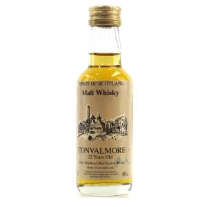 Convalmore 22 Year Old Spirit of Scotland Miniature 5cl