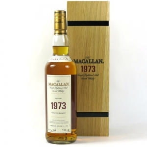 Macallan 1973 Fine and Rare front