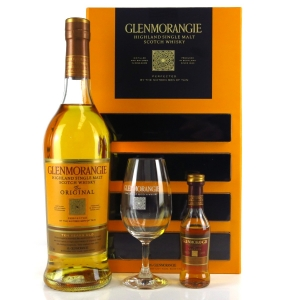 Glenmorangie Original 10 Year Old / with Glass & Lasanta Miniature 5cl