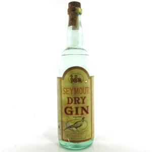 Seymour Dry Gin 1970s 1 Litre