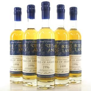 Arran Vintage Whiskies Of Scotland Selection 5 x 20cl
