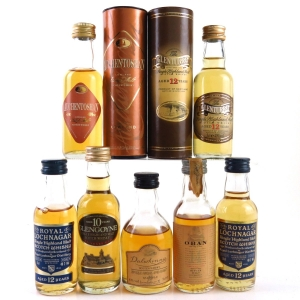 Miscellaneous Highland/Lowland Miniature Selection 7 x 5cl