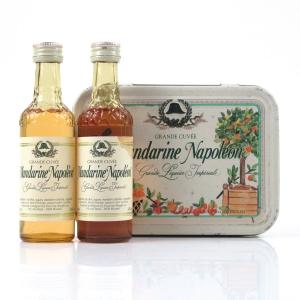 Mandarine Napoleon Liqueur Miniature Gift Set 2 x 5cl