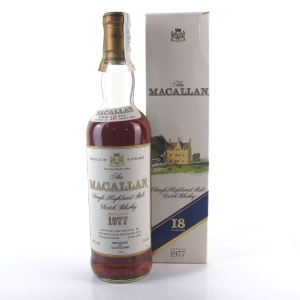 Macallan 18 Year Old 1977