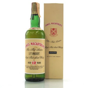 Ardmore 12 Year Old James MacArthur's Cask Strength
