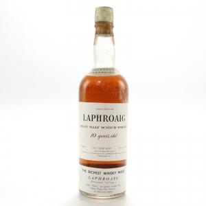Laphroaig 10 Year Old 1968 / Carlton Import, US