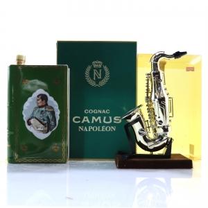 Camus Napoleon Bicentenary Cognac Decanter 1969 / with La Priere Saxophone Miniature 2.5cl