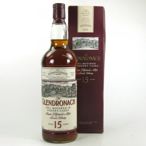 Glendronach 15 Year Old 1990s 1 Litre