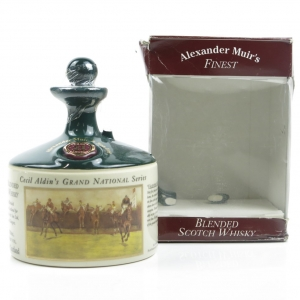 Alexander Muir's Finest 21 Year Old / Cecil Aldin's Grand National Series Decanter