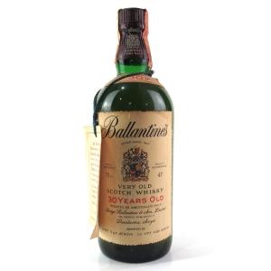 Ballantine's 30 Year Old 1980s / Spirit Import