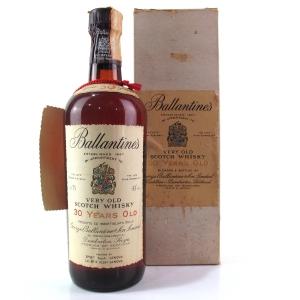 Ballantine's 30 Year Old 1970s / Spirit Import
