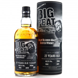 Big Peat 1992 Black Edition 27 Year Old