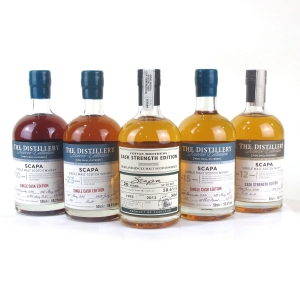 Scapa Distillery Exclusive Collection 5 x 50cl