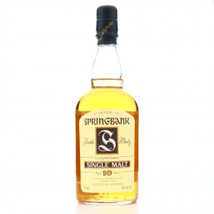 *Springbank 10 Year Old 75cl / US Import