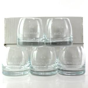 Macallan Branded Tumbler Glasses x 5