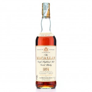 *Macallan 1974 18 Year Old / Giovinetti Import