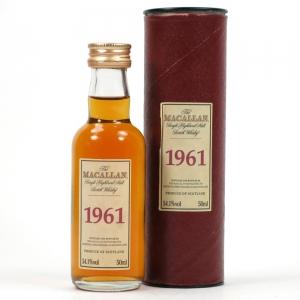Macallan 1961 Select Reserve Miniature