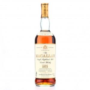 *Macallan 1973 18 Year Old / Giovinetti Import