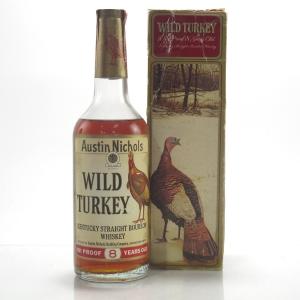 Wild Turkey 8 Year Old 101 Proof 1970s