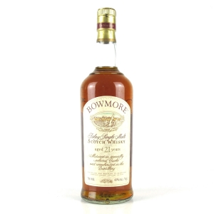 Bowmore 21 Year Old 1990s / US Import