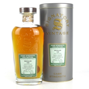 Macallan 1988 Signatory Vintage 19 Year Old Cask Strength