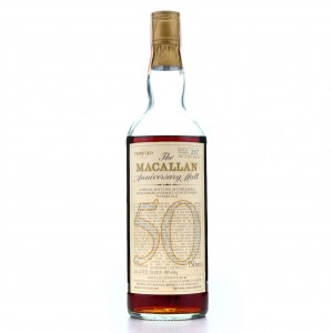 *Macallan 1928 Anniversary Malt 50 Year Old / Berman Import, US