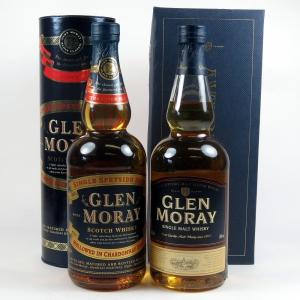 Glen Moray Chardonnay & Glen Moray Classic 2 x 70cl
