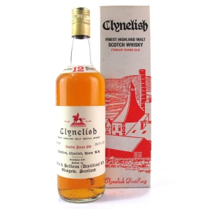 Clynelish 12 Year Old Ainslie and Heilbron 1970s