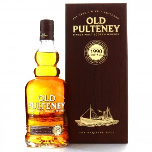 Old Pulteney 1990 Vintage Peated Cask Finish