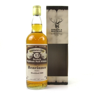 Benrinnes 1968 Gordon and MacPhail 12 Year Old