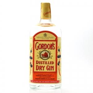 Gordon's Dry Gin 1 Litre 1970s