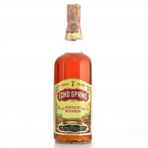 Echo Spring 7 Year Old Kentucky Straight Bourbon 1960s