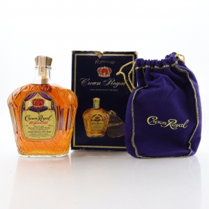 Seagram's Crown Royal 1973 10 Year Old