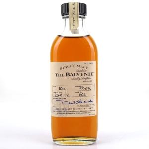 Balvenie 1992 Single Cask Sample #602 10cl