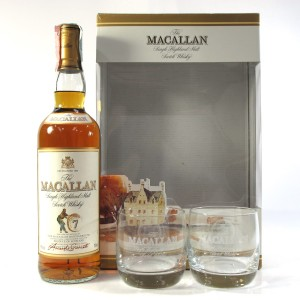 Macallan 7 Year Old Armando Giovinetti Special Selection / Glass Pack